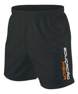 Bermuda Shorts Educação Física Esporte Academia Curso
