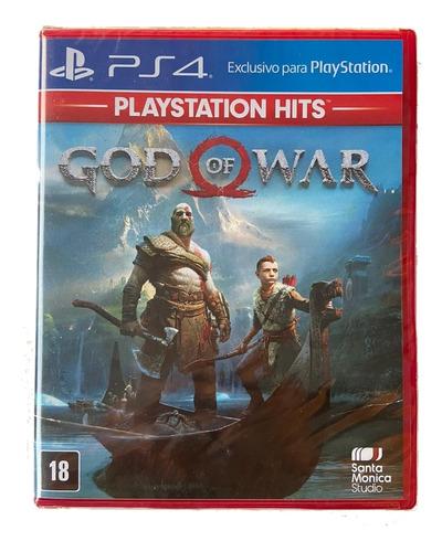 God Of War Ps4 Novo Lacrado Mídia Física