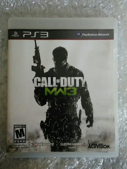 Call Of Duty Modern Warfare 3 Ps3 Mídia Física Seminovo