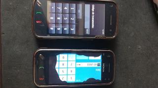 Lote 2 Celulares Nokia N97-3 E N97-5 Ler Anuncio 1/18