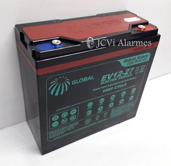 Bateria Moto Elétrica 1200w 20 Até 25 Amperes Ciclo Profundo