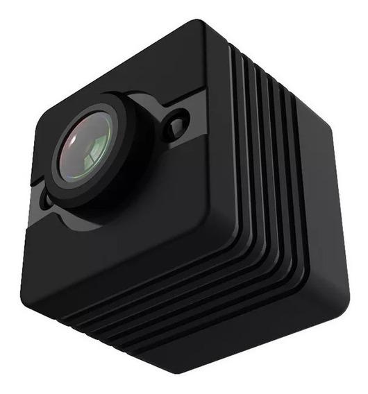 Camera Quelima Sq12 Sports Mini Dv Recorder Dvr - Preto