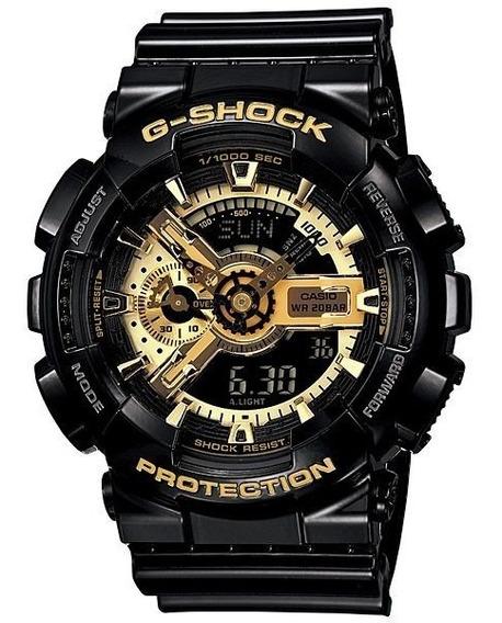 Relógio Casio G -shock Ga-110gb 5146 Preto Dourado Original