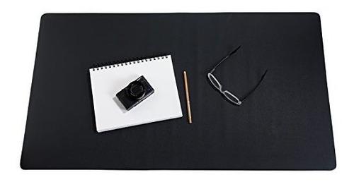 Imagen 1 de 7 de Zbrands Alfombrilla De Escritorio De Cuero Liso Pad Blotter