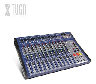 Xtuga Ct120s-usb Mezclador Audio 12 Canales Usb Xlr Eq 3 Bandas +48v Phantom Power Para Escenario