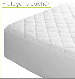 Protector Colchon Acolchado - Semidoble