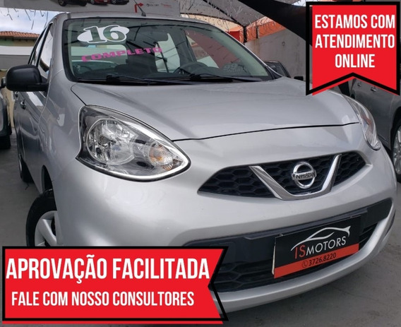 Nissan March 1.6 S Completo