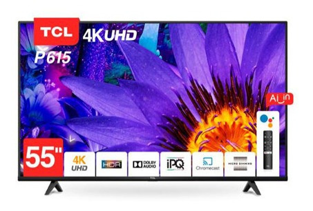 Smart Tv Tcl 55 P615 Android,comando De Voz Con Garantia