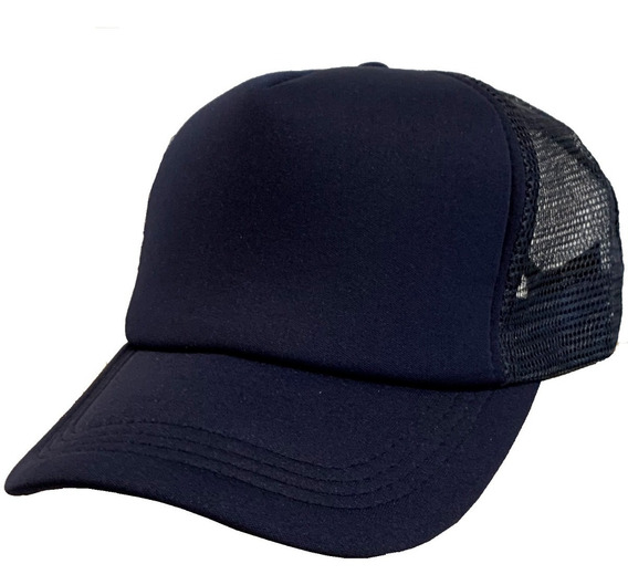 Gorra Cap Trucker Plain Compañia De Sombreros 941020