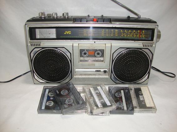 Antio Radio Toca Fitas Gravador Jvc Rc 545w Japão Peru