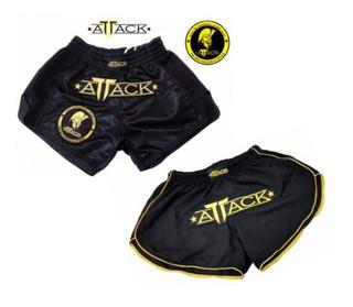 Shorts Muay Thai + Shorts Running Attack