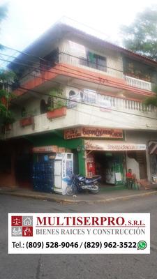 Edificio De 3 Niveles Y 2 Locales En El Primero, Centro S.c.