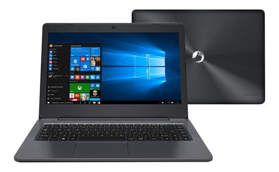Notebook Positivo Intel Dual Core 4gb Wi-fi Webcam - Novo