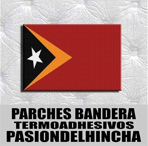 Parche Termoadhesivo Bandera Timor Oriental
