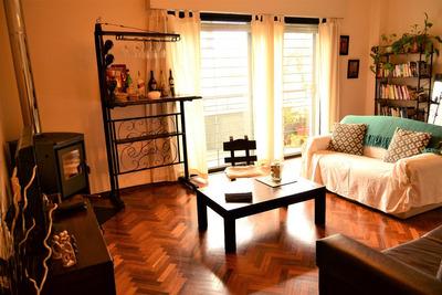 Hermoso Apartamento Luminoso Y Amplio, 2 Dorm. 80 Mts