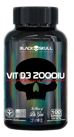 Vitamina D3 - 100 Caps