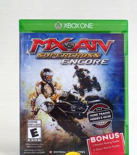 Mx Vs Atv Supercross Encore Extended Version Xbox One Nuevo