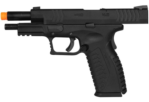Pistola Green Gás Gbb Airsoft We X Tactical Blow Back Metal