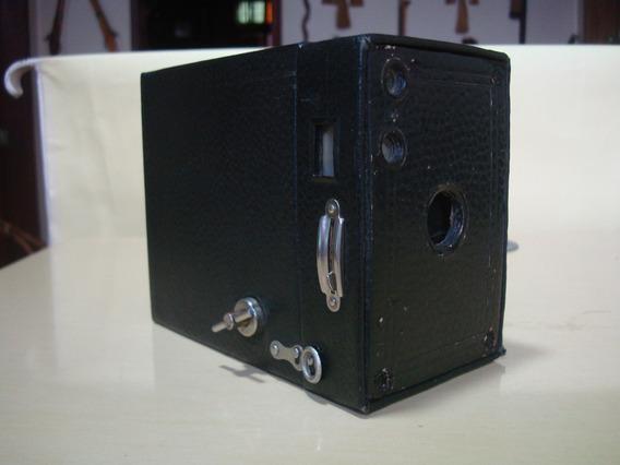 Câmera Antiga Kodak N-2a Brownie Modelo B