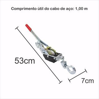 Ferramenta Guincho Manual Tirfor Macaco Promoção Catraca