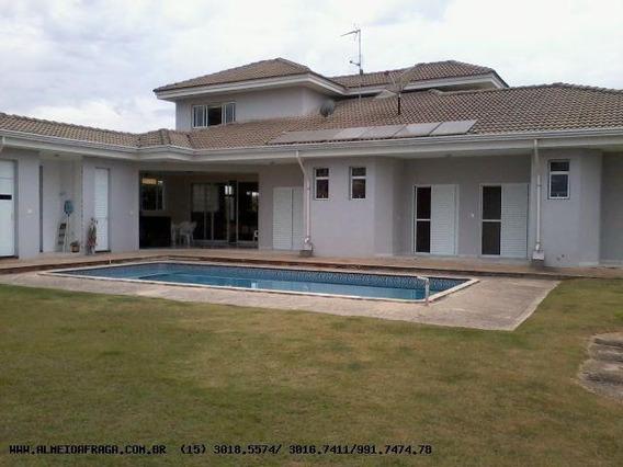 Casa Em Condomínio Para Venda Em Araçoiaba Da Serra, Araçoiaba Da Serra, 4 Dormitórios, 4 Suítes, 5 Banheiros, 8 Vagas - 956