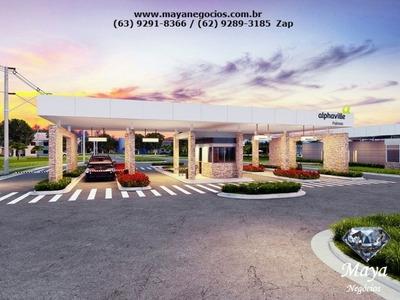 Lote De 390 M² No Condomínio Alphaville Palmas - Graciosa - 529