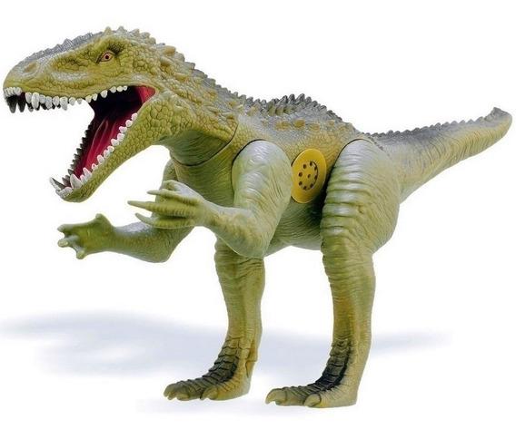 Dinossauro Furious Rex Grande 60 Cm Com Som - Vinil Colorido