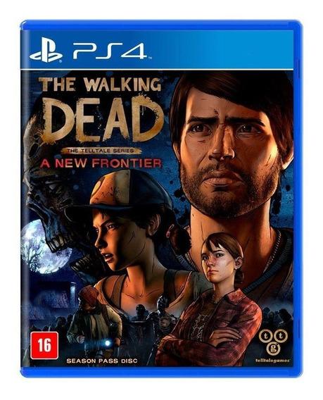 The Walking Dead A New Frontier Ps4 Mídia Física Lacrado