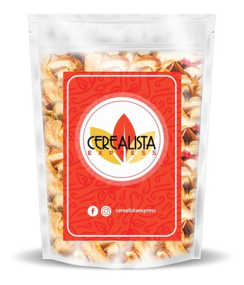 Maçã Chips Desidratada 5kg - Preço De Atacado + Fg