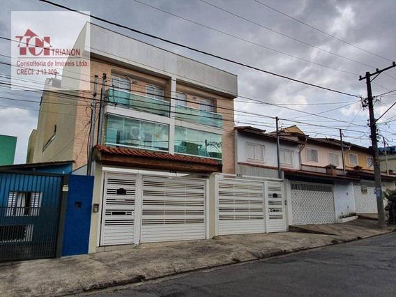 Apartamento Com 3 Dormitórios À Venda, 66 M² Por R$ 320.000 - Vila Pires - Santo André/sp - Ap2570