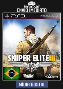 Sniper Elite Iii Pt-br Ps3 Psn Envio Imediato