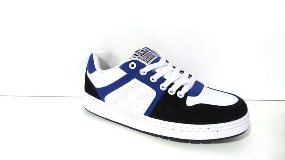 Tênis Qix 80s - Azul/branco/preto Original