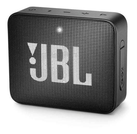Caixa De Som Bluetooth Jbl Go 2 Portátil Original - Preta