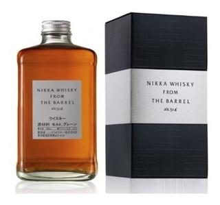 Whisky Blended Japonés Nikka From The Barrel Origen Japón.