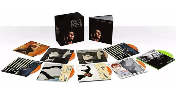 David Bowie A New Career In A New Town 1977-1982 Box 11 Cds