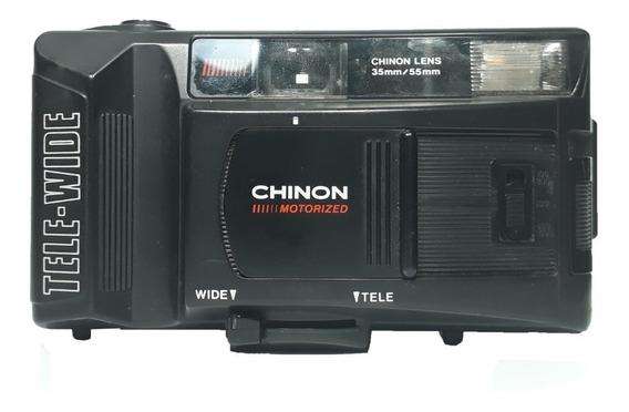 Câmera Fotográfica Chinon 35mm/55mm Tele Wide No Estado
