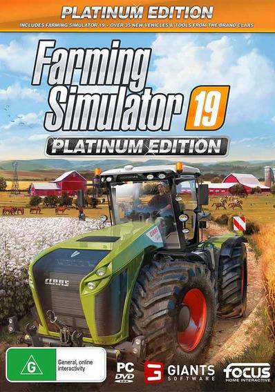 Farming Simulator 2019 Platinum Edition Em Português-br
