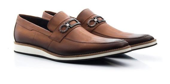 Sapato Fino Oxford Masculino Social Em Couro Legítimo