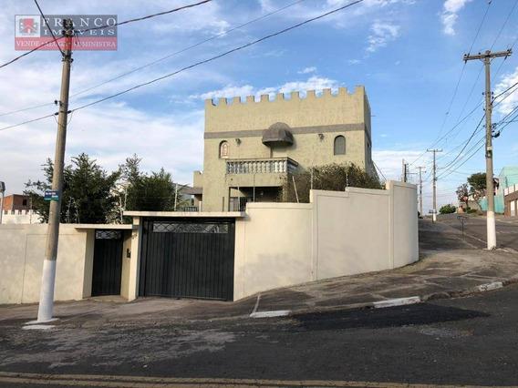 Casa Com 4 Dormitórios Para Alugar, 180 M² Por R$ 2.300/mês - Jardim Samambaia - Campinas/sp - Ca0572