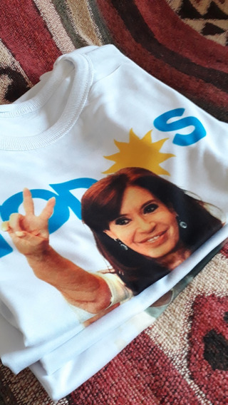 Remeras Peronistas Kirchneristas De Cristina Cfk