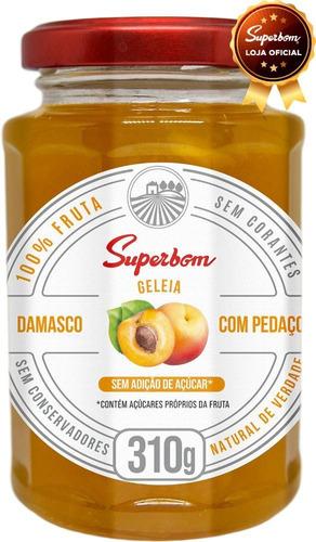Geleia De Damasco 310g - Superbom.