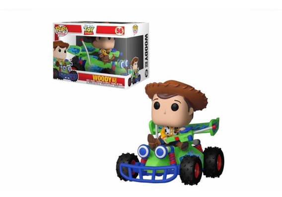 Pop Funko 56 Woody With Rc Toy Story