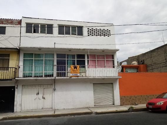 Casa Con Local Comercial Muy Amplia, Nezahuacoyotl, Edo. Mex