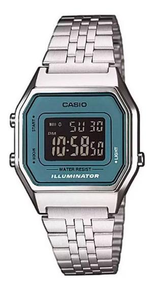 Relógio Vintage Casio La680wa-2bdf Prateado