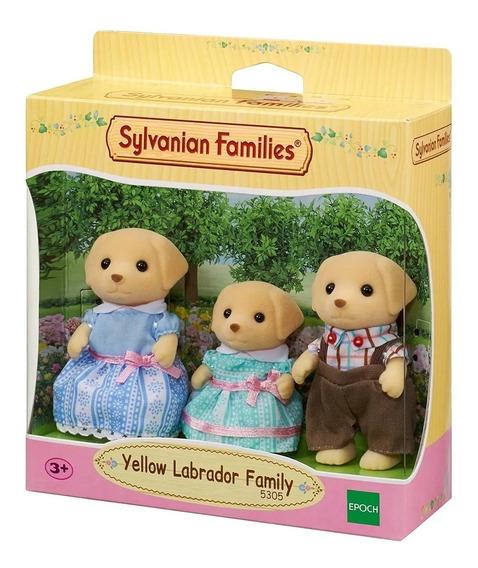 Sylvanian Families A Familia Dos Labradores Da Epoch 5305