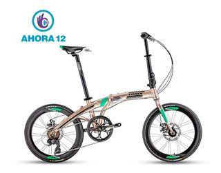 Bicicleta Plegable Trinx Dolphin 2.0 Freno A Disco 7 Vel
