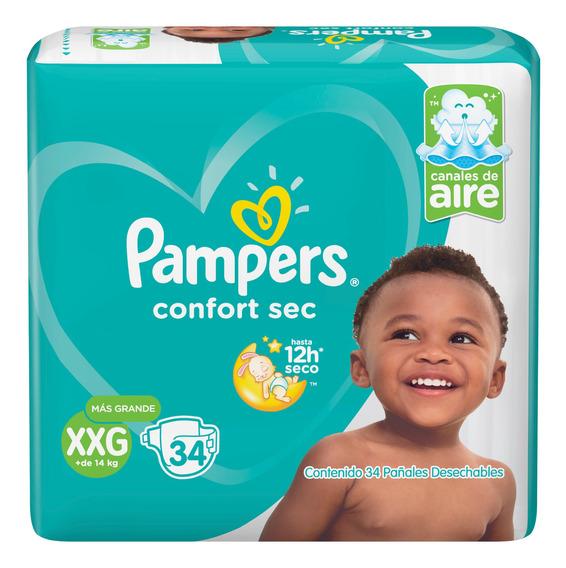 Pañales Pampers Confort Sec - Ver Talles Pack X2