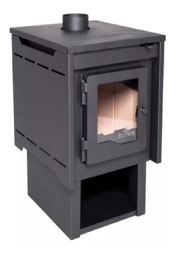 Estufa Calefactor A Leña Alto Rendimiento Tromen Eco Del Sur