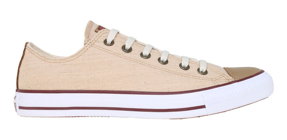 Zapatillas Converse Chuck Taylor All Star Linen Ox Be/be