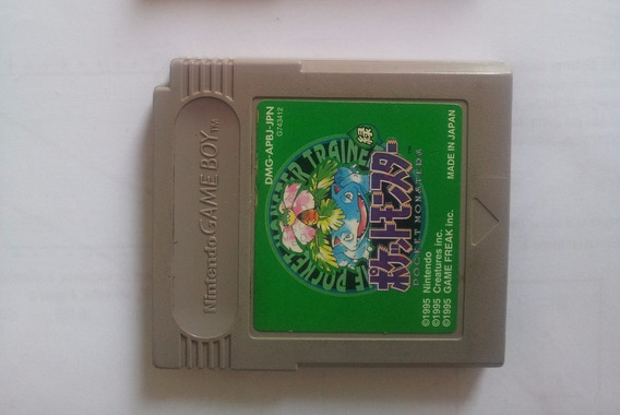 Pokemon Green Game Boy Cartucho Original Nintendo - Ñ Salva